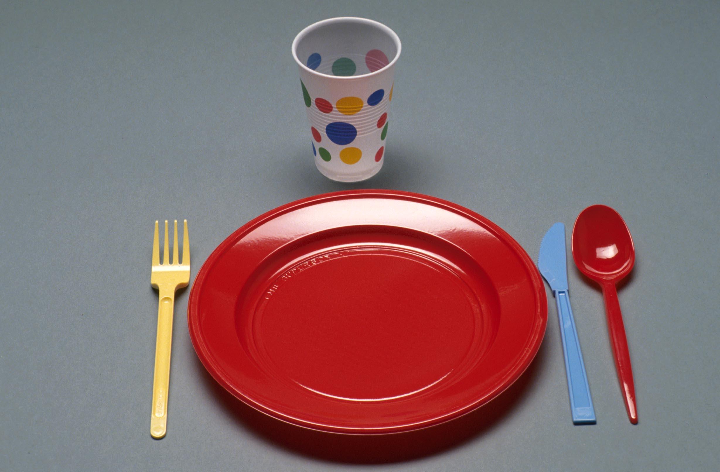 Piatti e bicchieri di plastica meglio bio l 39 eco di for Piatti e bicchieri colorati