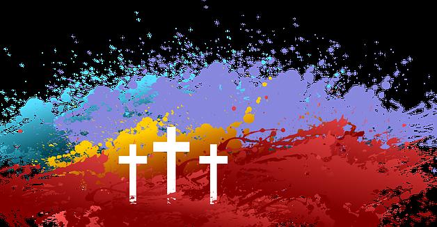 calvario a colori